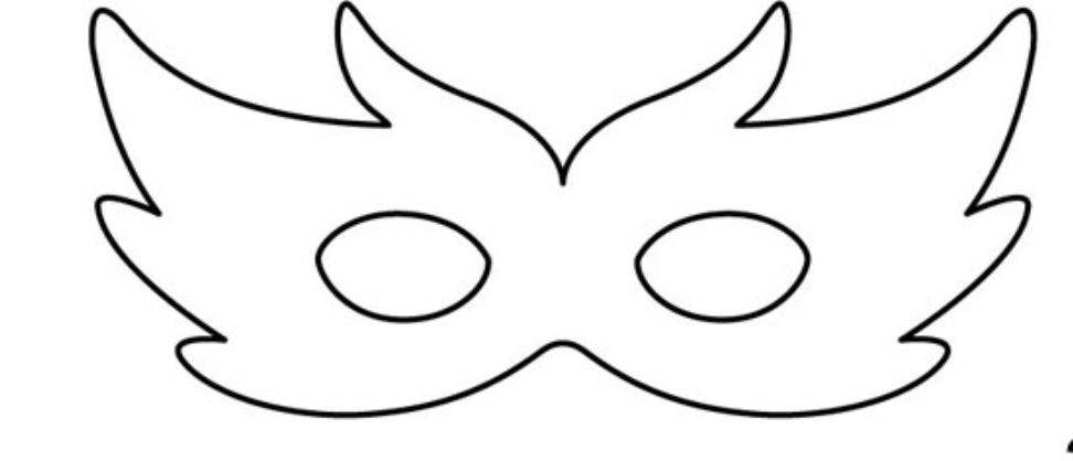 For The Peacock Mask I Followed First Template Exactly You Can Simply Print Image Off In This Post To Use And Create Your Own